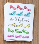 Walk by Faith Notes, Pack of 10