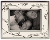 Family, Where Life Begins Photo Frame