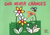 God Never Changes, Color and Learn Coloring Book