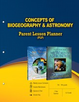 Concepts of Biogeography & Astronomy Parent Lesson Planner - PDF Download [Download]