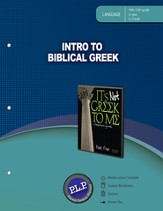 Intro to Biblical Greek Parent Lesson Planner - PDF Download [Download]