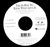 This Is How We Know What Love Is (CD Octavo Track)