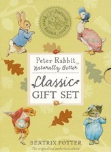Peter Rabbit Naturally Better Classic Gift Set  Includes The Tales of Peter Rabbit, Mr. Jeremy Fisher,