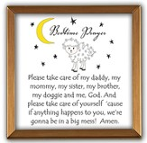 Bedtime Prayers Copper Plaque