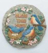 Bless This Nest Stepping Stone