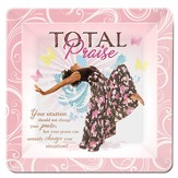 Total Praise Glass Plate