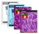 BJU Math Grade 3 Homeschool Kit, Third Edition