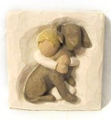 Willow Tree ® Hug Plaque
