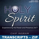 The Holy Spirit Transcripts - ZIP Files [Download]