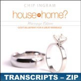 House or Home - Marriage Edition Transcripts - ZIP Files [Download]