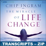 Miracle of Live Change Transcripts - ZIP Files [Download]