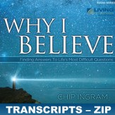 Why I Believe Transcripts - ZIP Files [Download]