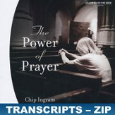 The Power of Prayer - Zip Files [Download]
