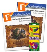 Spelling You See Level F: Ancient Achievements Student Pack