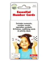 Essential Number Cards, Grades K-2