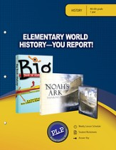 Elementary World History - You Report! Parent Lesson Planner - PDF Download [Download]