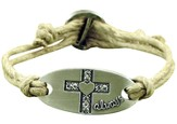 Always Cross Adjustable Bracelet