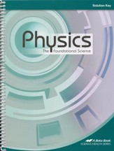 Physics: The Foundational Science Solution Key