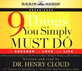 9 Things You Simply Must Do - Audiobook on CD