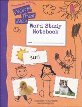 Word Study in Action Student Notebook Level K  - Slightly Imperfect