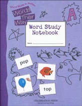 Words Their Way Level A Student Notebook, Grade 1