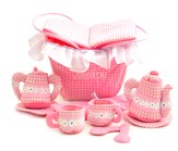 Personalized, Soft Toy, Tea Party Set