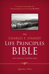 The Charles F. Stanley Life Principles Bible, NASB - eBook