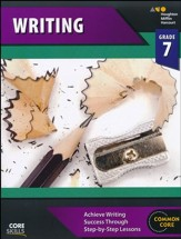 Steck-Vaughn Core Skills Writing Workbook Grade 7
