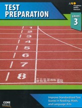 Steck-Vaughn Core Skills Test Preparation Workbook Grade 3