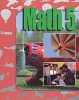 BJU Math 5, Student Text (Updated Copyright)