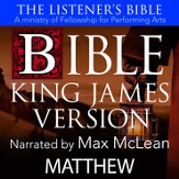 The Listener's Bible (KJV): Matthew [Download]
