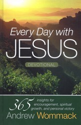 Every Day with Jesus: 365 Insights for Encouragement, Spiritual Growth, and Personal Victory - eBook