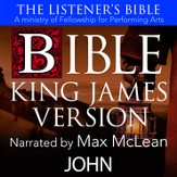 The Listener's Bible (KJV): John [Download]