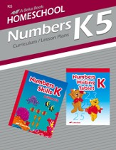 Homeschool Grade K5 Numbers Curriculum
