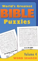 World's Greatest Bible Puzzles-Volume 4 (Word Search)