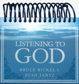Listening to God: 365 Days of Experiencing His Presence - Calendar