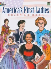 America's First Ladies Coloring Book