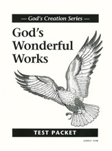 God's Wonderful Works Test Booklet  Christian Liberty Press