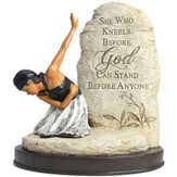 She Who Kneels Before God Figurine