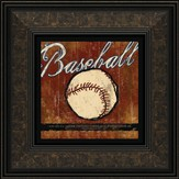 Baseball, I Can Do All Things Framed Print