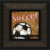 Soccer, In All You Do Framed Print