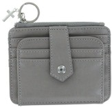 ID Wallet with Cross Charm, Gray