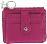 ID Wallet with Cross Charm, Pink