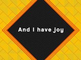 Joy (PlanetShakers) - Lyric Video SD [Download]
