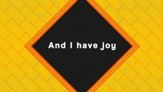 Joy (PlanetShakers) - Lyric Video HD [Download]