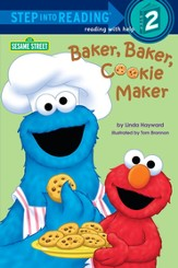 Baker, Baker, Cookie Maker (Sesame Street) - eBook
