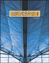 BJU Algebra 1 Student Text, Third Edition