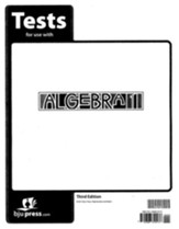 BJU Algebra 1 Grade 9 Test Pack (Third Edition)