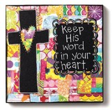 Keep His Word In Your Heart Wall Art