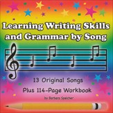 Learning Writing Skills and Grammar by Song Audio & PDF CD-ROM